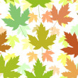 Maple leaf seamless tile — Stock Photo #5677042