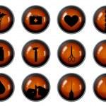 Botones de médicos — Foto de Stock