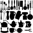 Foto Stock: Kitchen objects