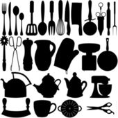 Kitchen objects — Stock Photo
