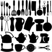 Kuchyňské předměty — Stock fotografie
