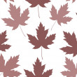 Stock Photo: Maple leaf seamless tile