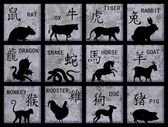 Chinese Zodiac symbols — Photo