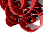 Beautiful abstract 3d design background — Stockfoto