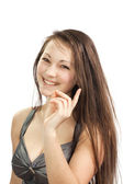A young successful girl — Stock Photo
