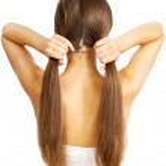 Women's hair — Stock Photo