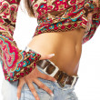 Torso of a beautiful girl — Stock Photo