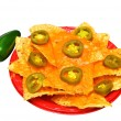 Royalty-Free Stock Photo: Nachos Isolated