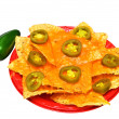 Nachos Isolated - Stock Photo