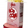 Royalty-Free Stock Photo: Popcorn and Movie Tickets Isolated