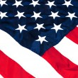 Stock Photo: American Flag Closeup