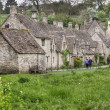 Arlington Row in Bibury in the Cotswolds, UK — Stock Photo
