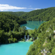 Plitvice lake — Stock Photo