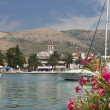 Trogir Croatia, port view — Stock Photo #5668968
