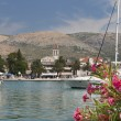 Trogir Croatia, port view — Stock Photo