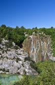Plitvice waterfall — Stock Photo