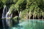 Plitvice waterfall — Foto de Stock