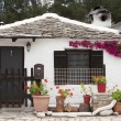 Small traditional greek house, in Thassos Island, Aliki Beach — Stock Photo
