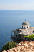St Archangel Michael Monastery in Thassos — Stock Photo