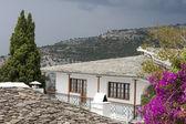 Very old greek monastery in thassos island — Stock Photo