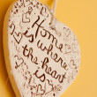 Heart on the wall — Stock Photo #5797450