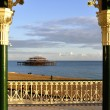 The West Pier in Brighton — Stock Photo