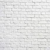 White brick wall — Stock fotografie