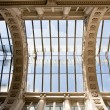 Stock Photo: Old glass ceiling