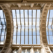 Old glass ceiling — Stock Photo