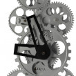 Metal clock mechanism — Stock Photo