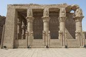在埃及的艾得夫寺的一部分 — 图库照片
