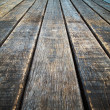 Foto Stock: Perspective Old wood floor