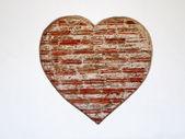 Brick Heart — Stock Photo