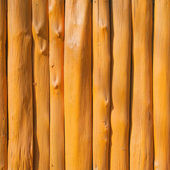 Wall made of natural timber — Stock Photo