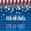 4th of July — Vector de stock