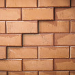 Surface of red brick wall — Stok fotoğraf