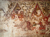 Old Thai traditional painting — Stock Photo