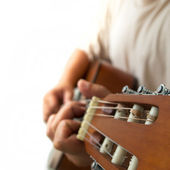 Guitar Player — Stockfoto