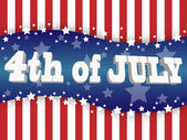 The fourth of july — Vetorial Stock
