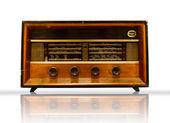 Old Wood Radio — Stock Photo