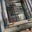 Old window sash - Stock Photo