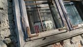 Old window sash — Stock Photo