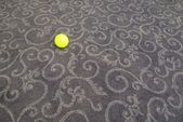 Small ball on carpet — Stock Photo