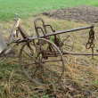 Stock Photo: Farming plow