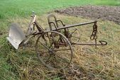 Farming plow — Stock Photo