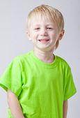 Garçon souriant — Photo