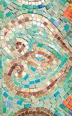 Mozaik çini — Stok fotoğraf