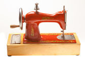 Child sewing machine — Stock Photo