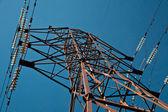 Elektrik pilon — Stok fotoğraf