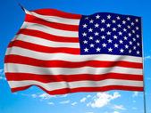 Bandera de los estados unidos — Stok fotoğraf